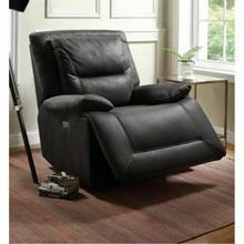 ACME Neely Recliner (Power Motion) - 59456 - Charcoal Fabric