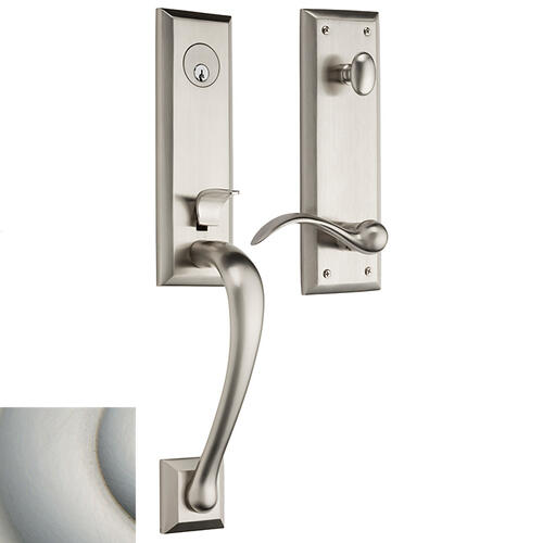Satin Nickel with Lifetime Finish Cody 3/4 Handleset