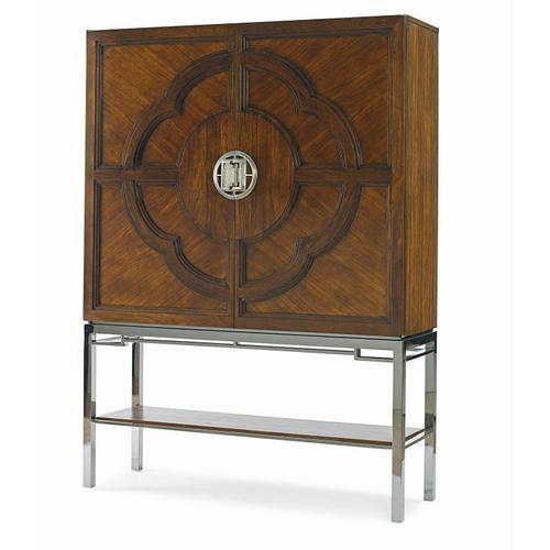 See Details - Chin Hua Lotus Bar Cabinet