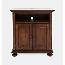 Stately Manor Power Accent Chest - Ant. Mahogany