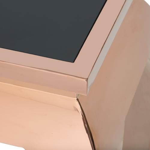 Pietro Console Table Rose Gold