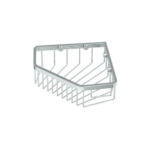 "Corner Shower Basket 8 1/2""W in Chrome Product Image"