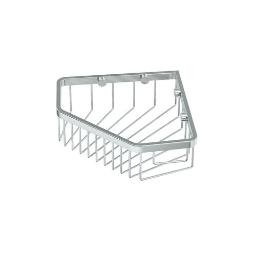 "Corner Shower Basket 8 1/2""W in Chrome"