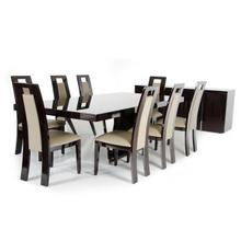 View Product - Modrest Christa Modern Ebony High Gloss Dining Table