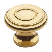 Polished Brass Dominion Knob