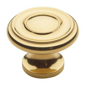 Polished Brass Dominion Knob Product Image