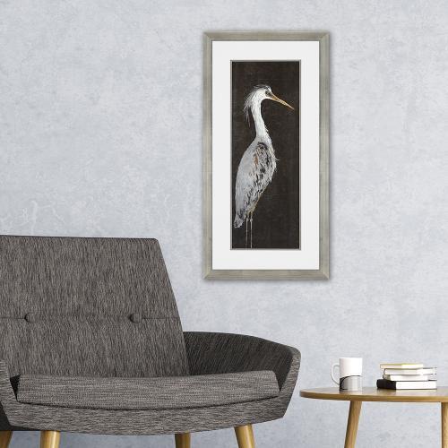 Heron on Black II