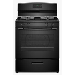 30-inch Gas Range with Easy Touch Electronic Controls Black Product Image