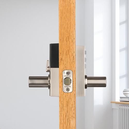 Kwikset - 917 SmartCode Electronic Halifax Lever - Satin Nickel