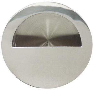 Round Pocket/Cup Pull w/Semi-circular Opening, US32 Product Image