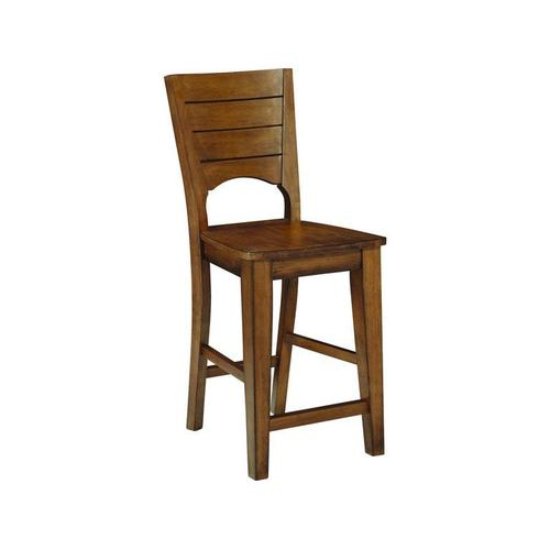 Gallery - Canyon Full Stool in Pecan