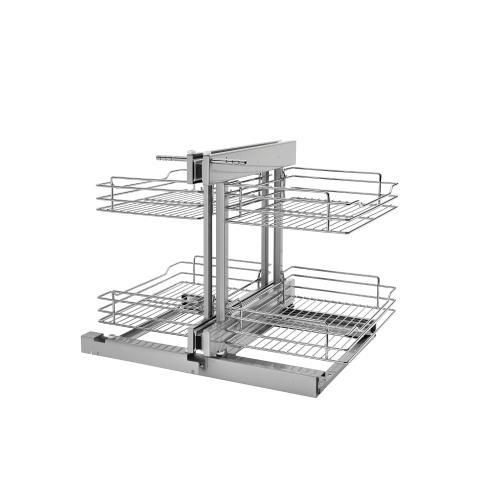 Rev-A-Shelf - 5PSP-15-CR - Small Blind Corner Optimizer