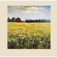 The Red Barn- Canvas