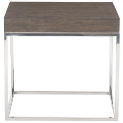 Riverside End Table in Weathered Charcoal
