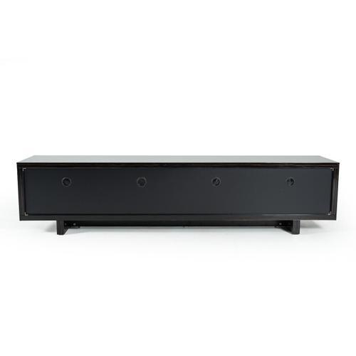 VIG Furniture - Modrest Chadwick Modern Ebony & Rosegold TV Stand