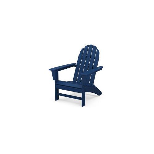 Polywood Furnishings - Vineyard Adirondack Chair in Navy