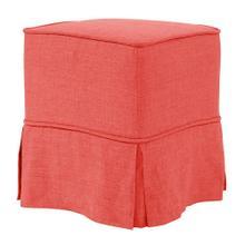 See Details - Universal Cube Linen Slub Poppy - Skirted
