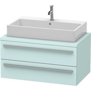 Vanity Unit For Console, Light Blue Matte (decor)