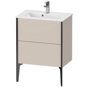 Vanity Unit Floorstanding Compact, Taupe Matte (decor)