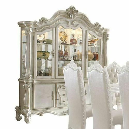 ACME Versailles Hutch & Buffet - 61134 - Bone White