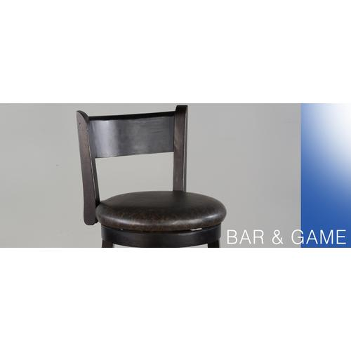 "24""H Swivel Barstool"