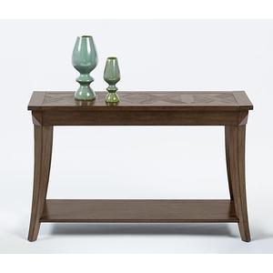 Sofa/Console Table - Dark Poplar Finish