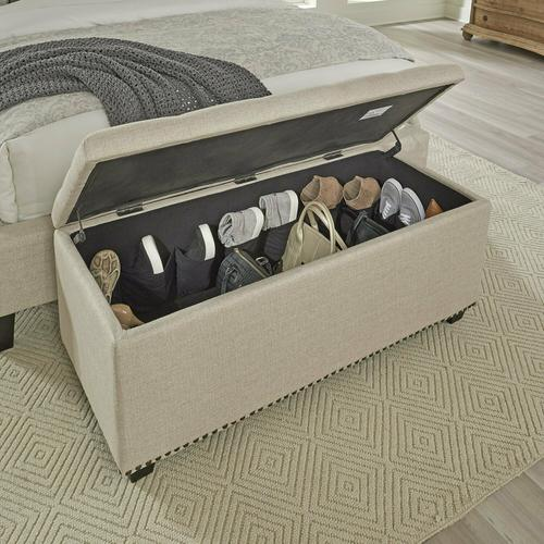 Gallery - CHLOE - FRENCH Storage Bench