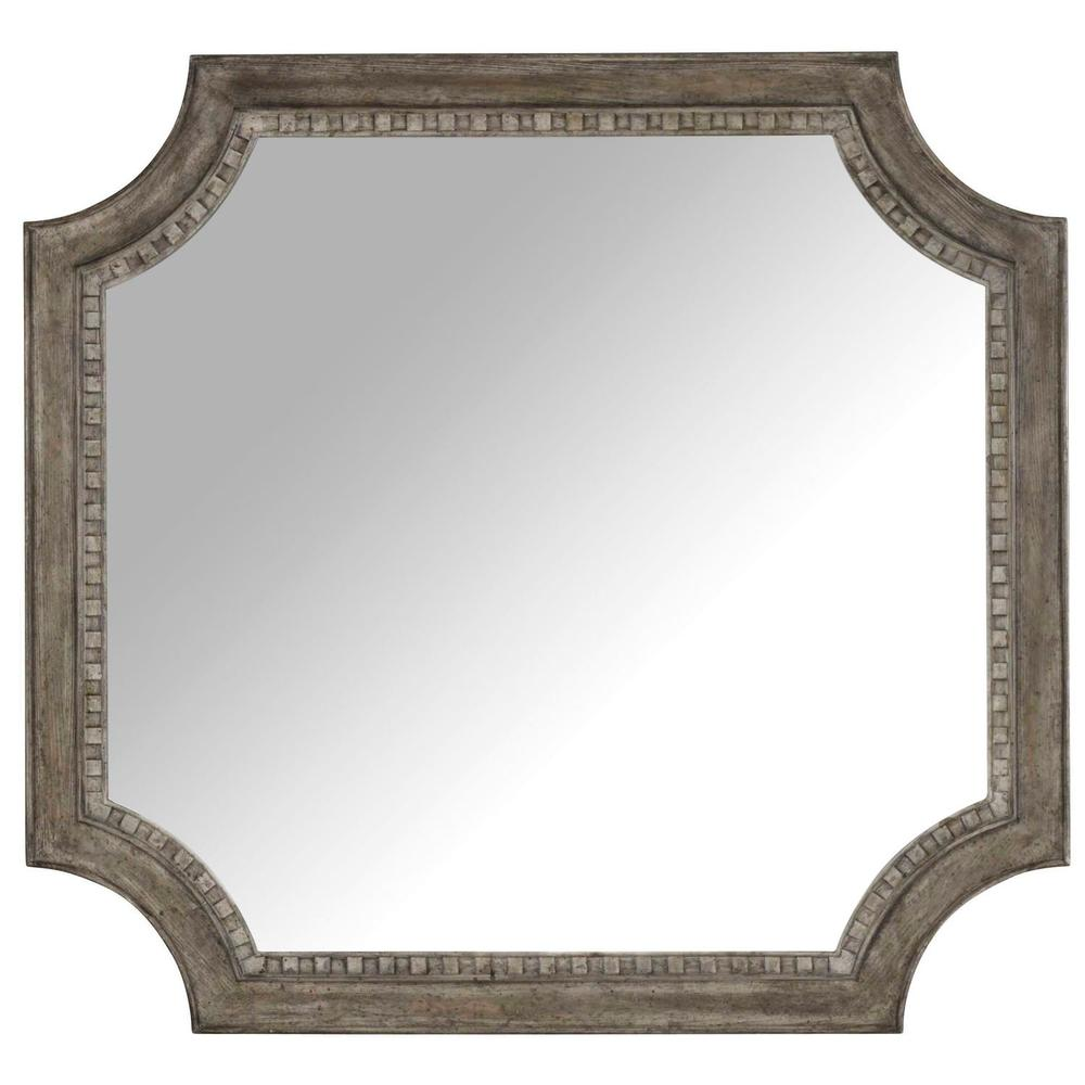 Bedroom True Vintage Shaped Mirror