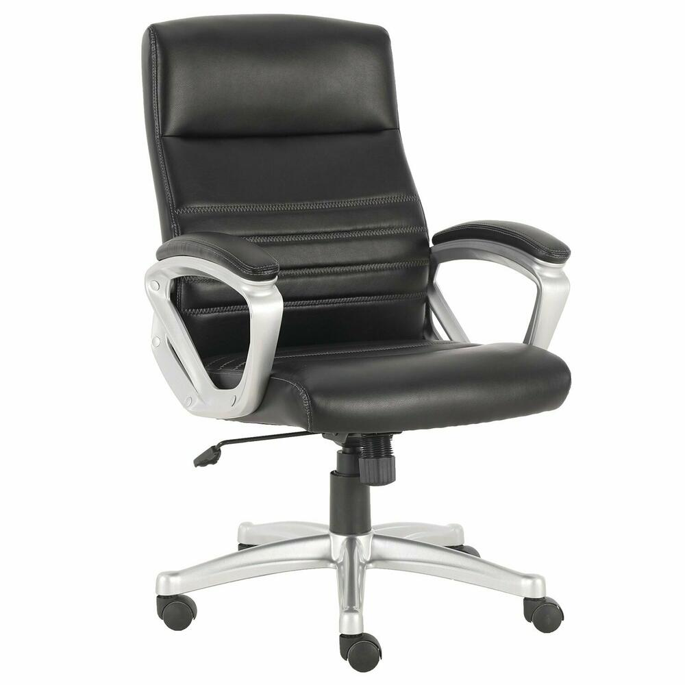 DC#318-BLK - DESK CHAIR Fabric Desk Chair
