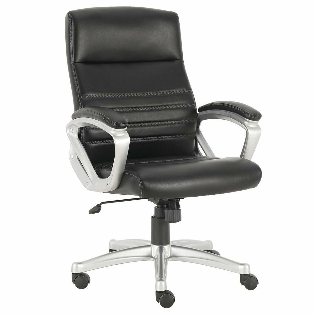 DC#318-BLK - DESK CHAIR Fabric Desk Chair