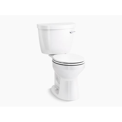 Kohler - Biscuit Two-piece Round-front 1.28 Gpf Chair Height Toilet