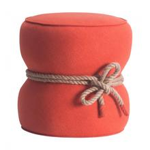 See Details - Tubby Ottoman Orange