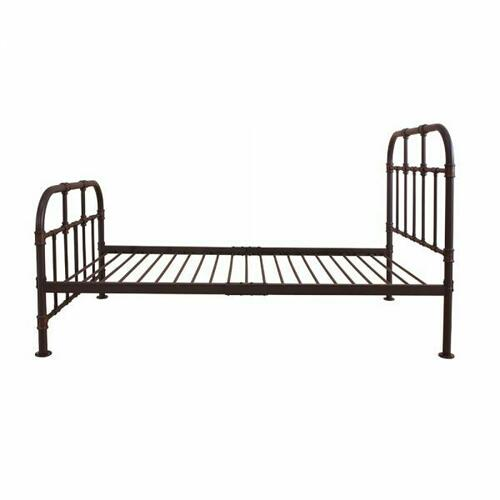 ACME Nicipolis Twin Bed - 30730T - Sandy Gray