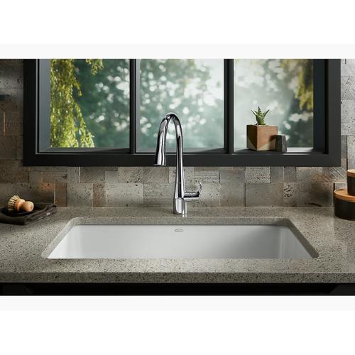 "Sandbar 33"" X 18-3/4"" X 9-5/8"" Top-mount/undermount Single-bowl Kitchen Sink"