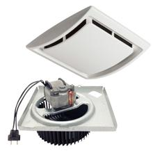 See Details - NuTone® 60 CFM Quick Install Bathroom Exhaust Fan Motor and Grille Upgrade Kit, Four-Pack