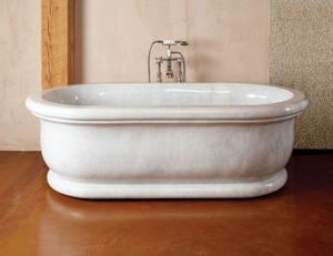 Roman Bathtub Carrara Marble Product Image