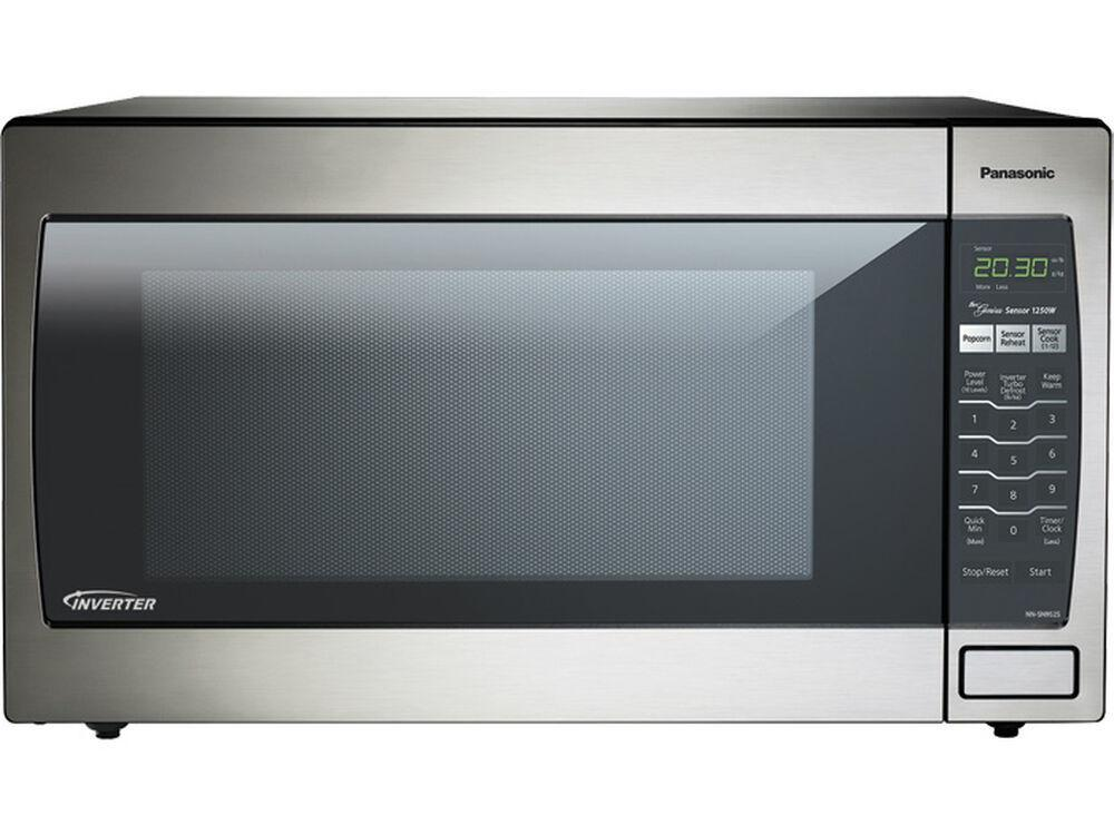 Panasonic2.2 Cu. Ft. Countertop/built-In Microwave With Inverter Technology Nn-Sn952s Stainless