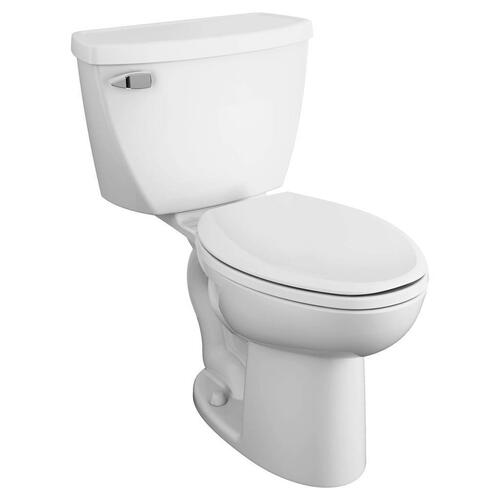 American Standard - Cadet Right Height Elongated Pressure Assisted Toilet  American Standard - White