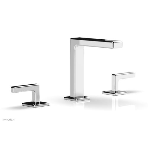 """MIX Widespread Faucet - Lever Handles 6-3/4"""" Height 290-02 - Polished Chrome"""
