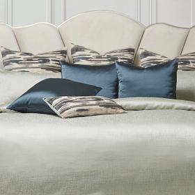9pc Queen Comforter Set Mist