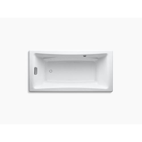 "White 72"" Heated Bubblemassage Air Bath"