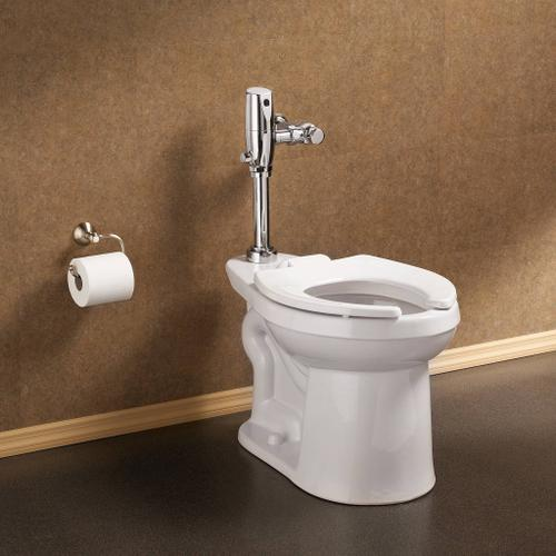 American Standard - Right Width FloWise Elongated Flushometer Toilet - White