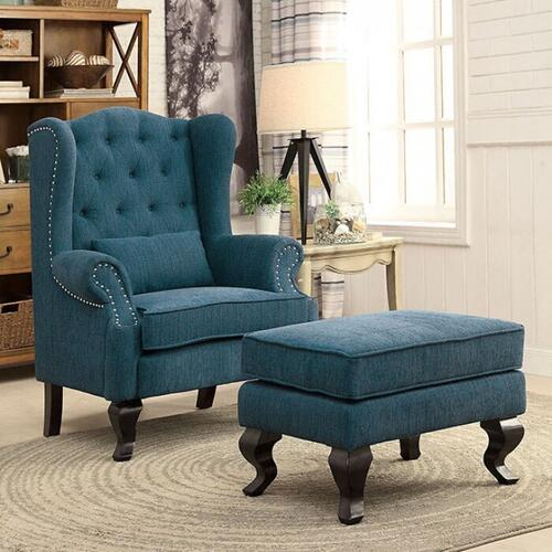 Furniture of America - Willow Ottoman