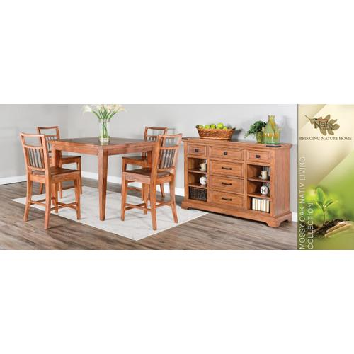 Sunny Designs - Mossy Oak Square Counter Height Table