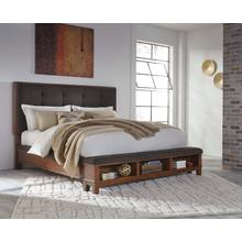 Red Hot Buy- Be Happy! K/ck Uph Storage Footboard