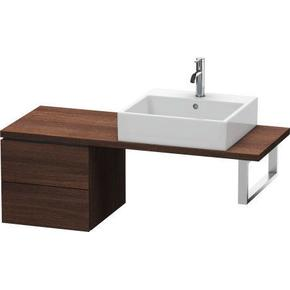 Low Cabinet For Console Compact, Chestnut Dark (decor)