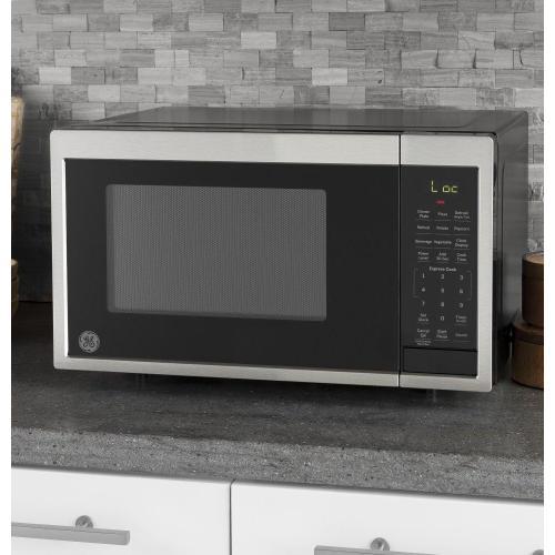 GE Appliances - GE® 0.9 Cu. Ft. Capacity Countertop Microwave Oven