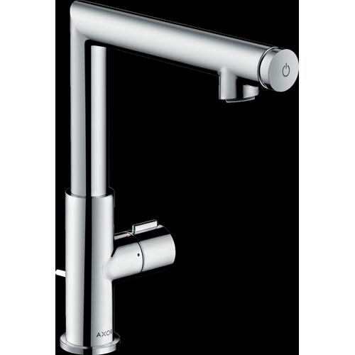 Chrome Single-Hole Faucet Select 220, 1.2 GPM