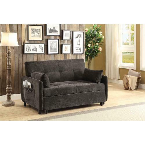 Underwood Charcoal Sofa Bed