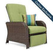Sawyer Patio Recliner, Cilantro Green Product Image